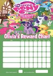 Personalised My Little Pony Reward Chart (adding photo option available)